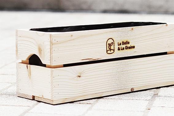 Grand carré et kit potager par La Belle & La Graine