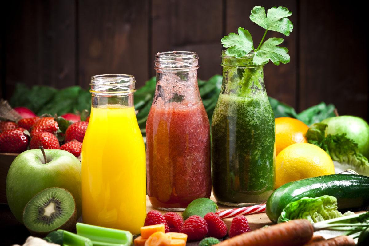 Les jus de légumes et fruits frais bons pour la santé